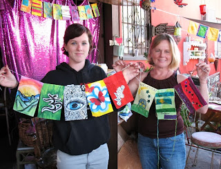 Creative Circle flag workshop
