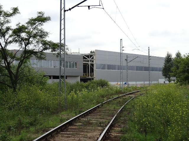 Hala dla składów zespołowych Alstomu, czyli polskiego Pendolino
