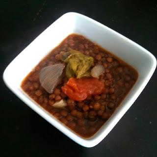 Cocina con Aníbal Lentejas para vegetarianos