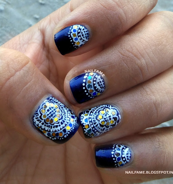 HEENA MANICURE NAILFAME NAILART BLOG INDIA