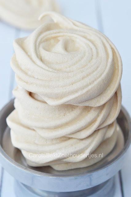 meringues van kikkererwten vocht sap
