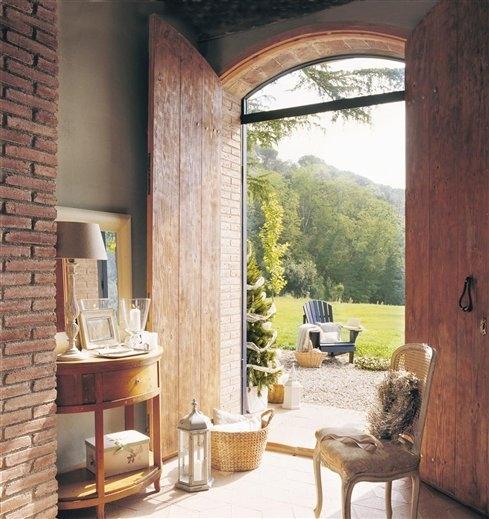 Estilo rustico casa rustica en espana - Entradas de casas rusticas ...