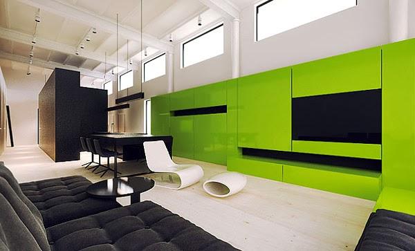 D coration salon moderne et minimaliste d coration salon for Decoration salon de the chicha