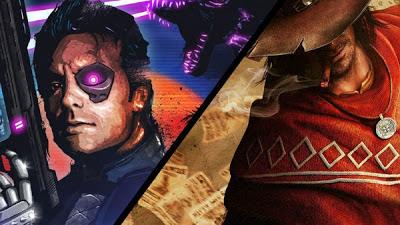 Imagen de los dos juegos que se sortean
