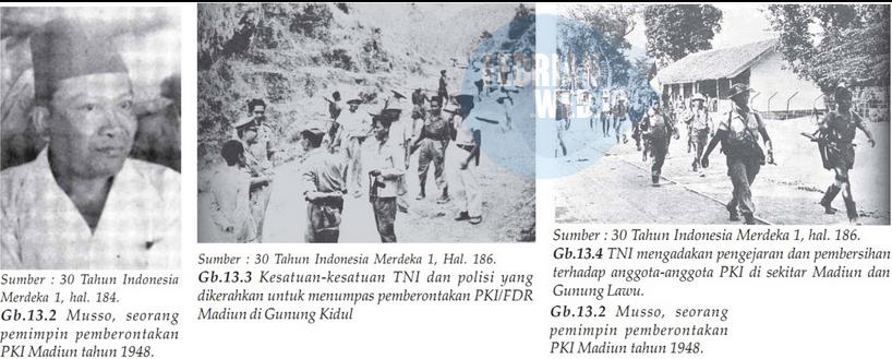 Peristiwa Pemberontakan PKI di Madiun - IPS