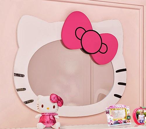 Simple Hello Kitty Mirror