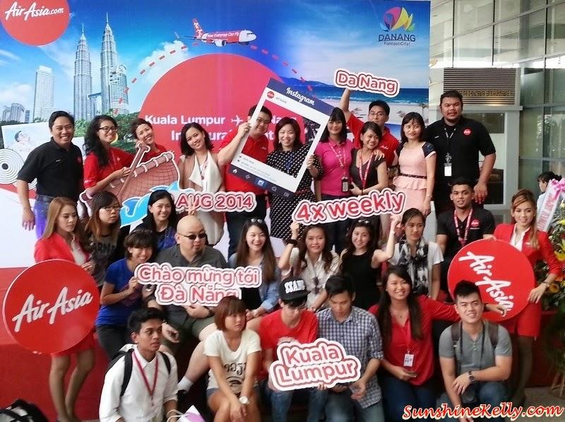 Air Asia Inaugural Flight to Da Nang, Vietnam, Air Asia, Inaugural Flight, Da Nang, Ba Na Hills, Da Nang International Airport, AABC, Air Asia Bloggers Community, Hoi An, My Khe Beach, Da Nang Beach