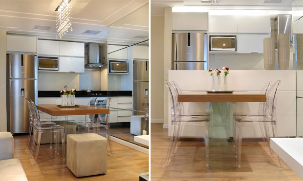 decoracao de apartamentos pequenos e charmosos : decoracao de apartamentos pequenos e charmosos:Para Cozinha Apartamento Pequeno
