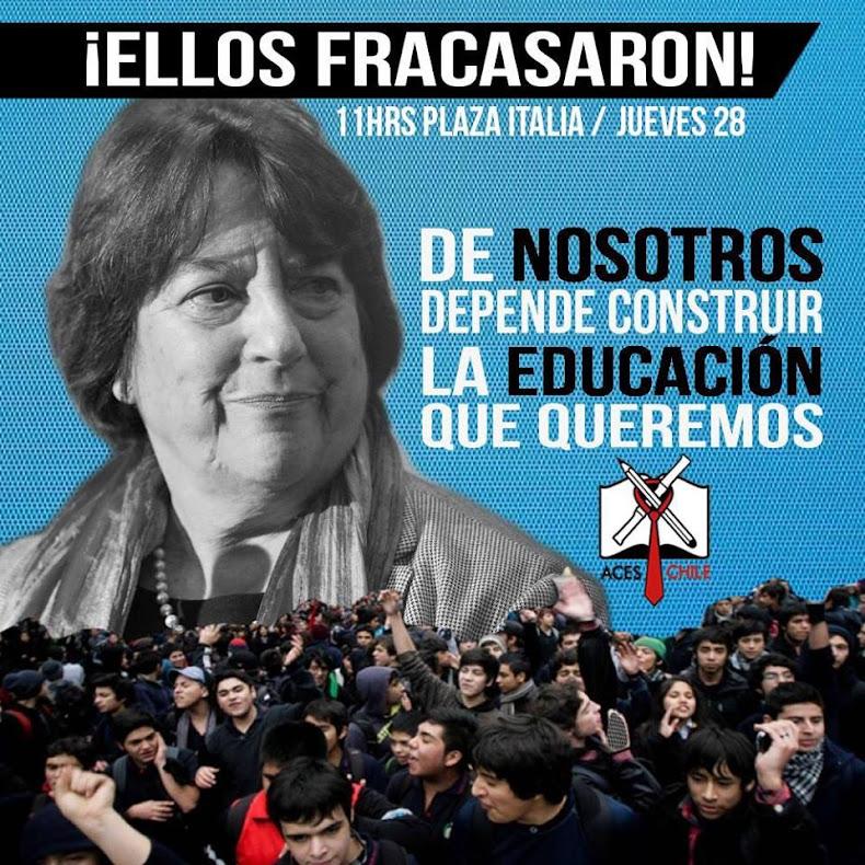 SANTIAGO: ELLOS FRACASARON, DE NOSOTROS DEPENDE CONSTRUIR LA EDUCACIÓN QUE QUEREMOS