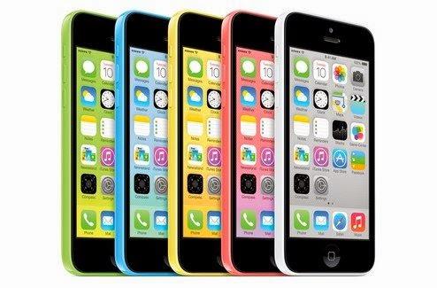 Apple iPhone 5C iOS