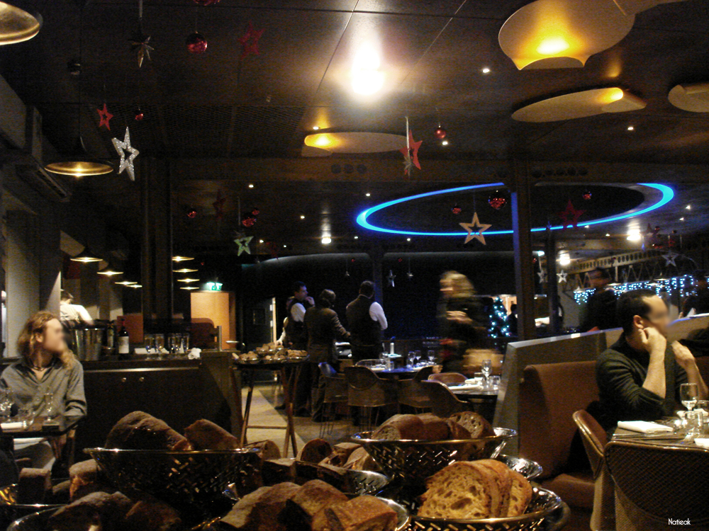 La tour eiffel et son restaurant 58 le petit monde de natieak - Restaurant le 58 tour eiffel ...