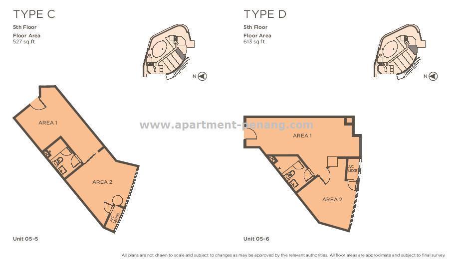 118 Island Plaza Apartment Penang Com