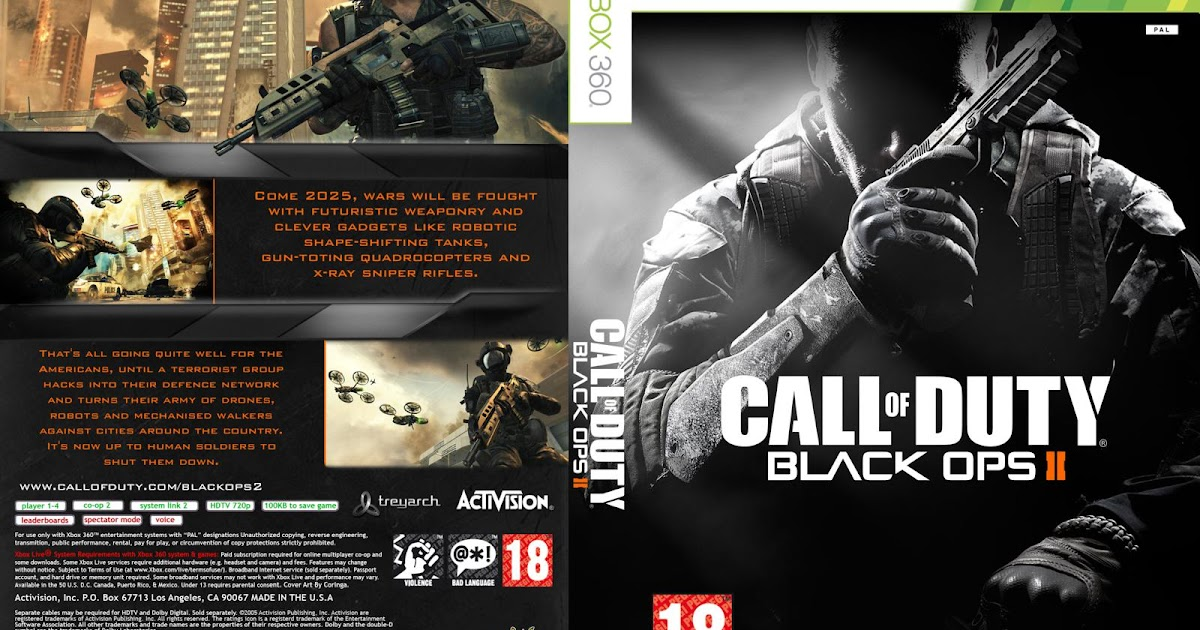 Xbox One Call Of Duty Black Ops 2 HARD GAMESS: Call of D...