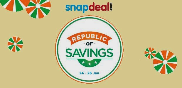 snapdeal republic day offer...