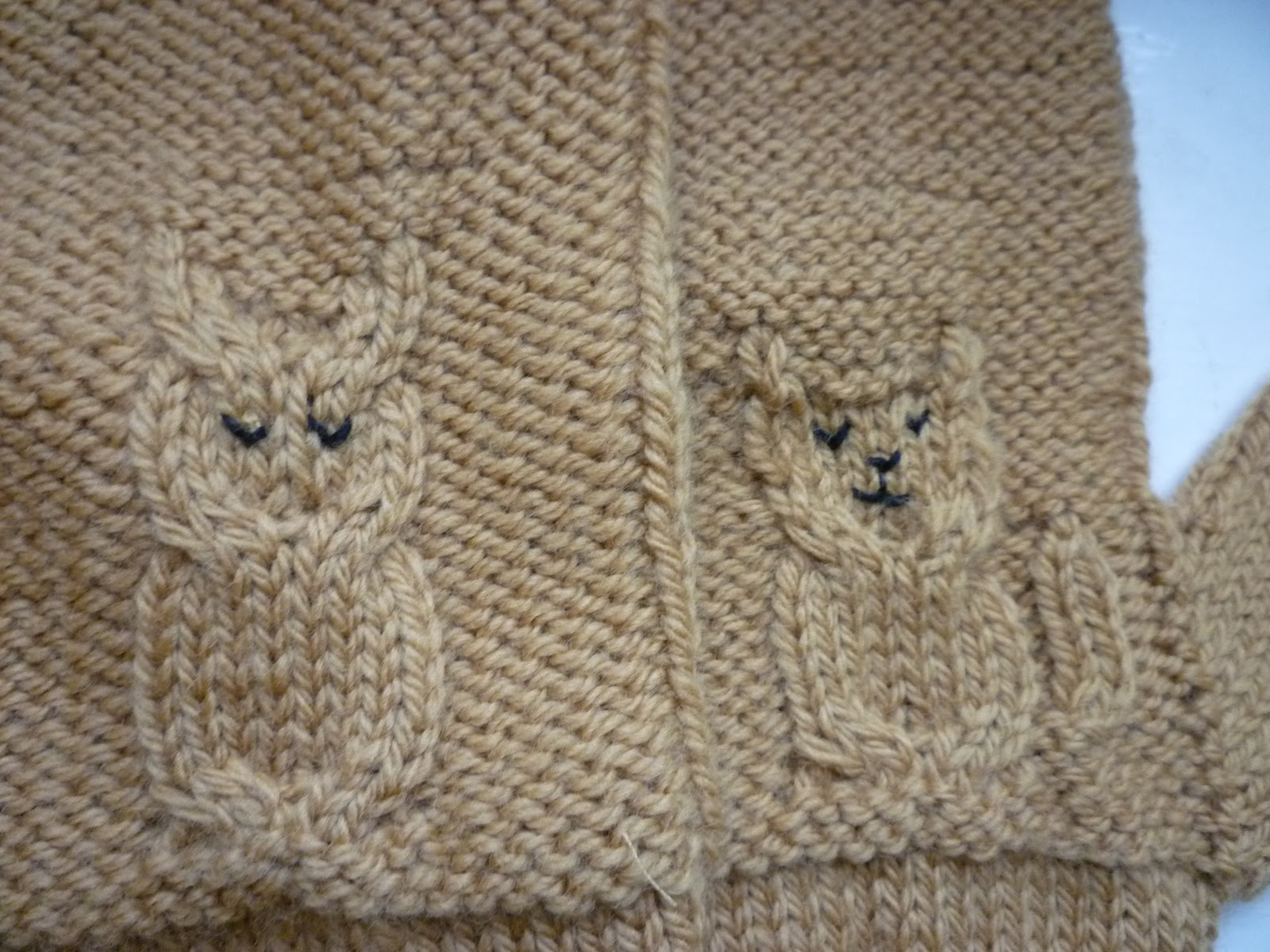 Knitting Pattern For Owl Jumper : Kestrel Makes: The Owl & The Pussycat Wore Some Mittens