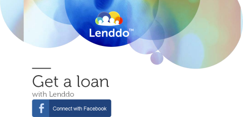 Application Lenddo sur Facebook