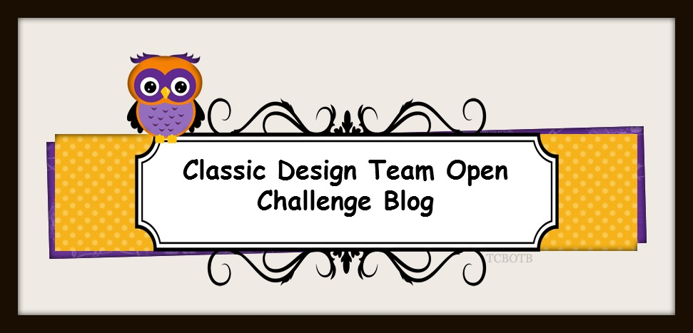 Join our Classic Design Team Open  Monthly Challenge