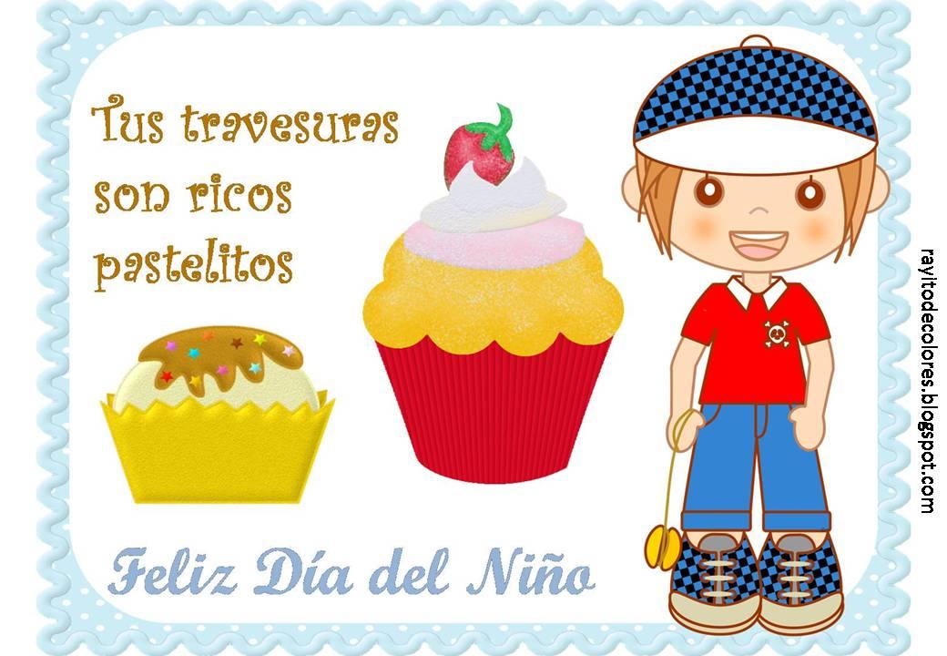 Tarjetas Día del Niño