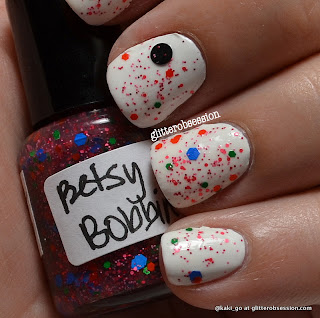 A Rhyming Dictionary Betsy Bobbin over Sally Hansen White On