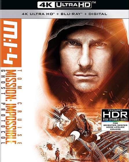Mission: Impossible Ghost Protocol 4K (Misión imposible: Protocolo Fantasma 4K) (2011) 2160p 4K UltraHD HDR BluRay REMUX 45GB mkv Dual Audio Dolby TrueHD ATMOS 7.1 ch
