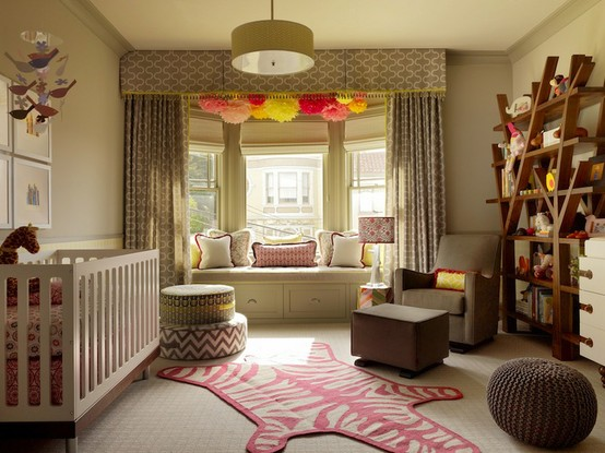 Recently I Came Across These New Nursery Rooms That Am Loving Love The Bold Prints And Colors In Don T You