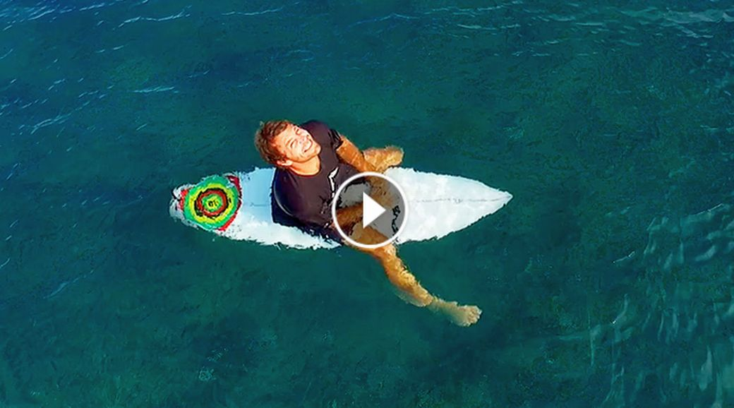 Indo From Above SURFING in Mentawai Bali Drone Footage