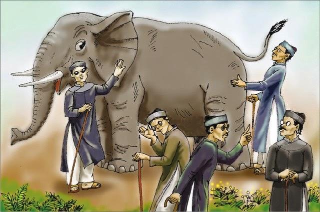 """Hệ quả của thông tin kiểu """"thầy bói xem voi"""""""