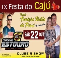 IX FESTA DO CAJU NO CLUBE R SHOW