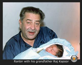 Ranbir kapoor in childhood photos