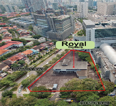 Royal Square At Novena - Convenience lifestyle.