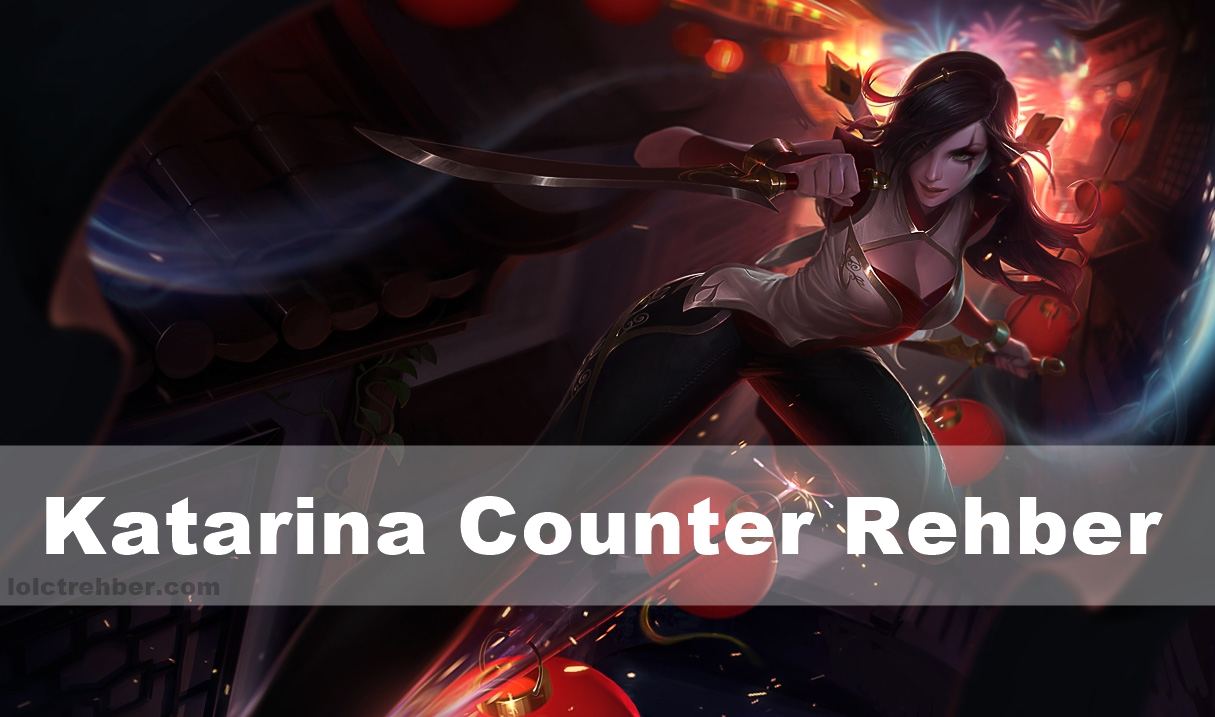 Katarina counter cme uf80 classic default settings