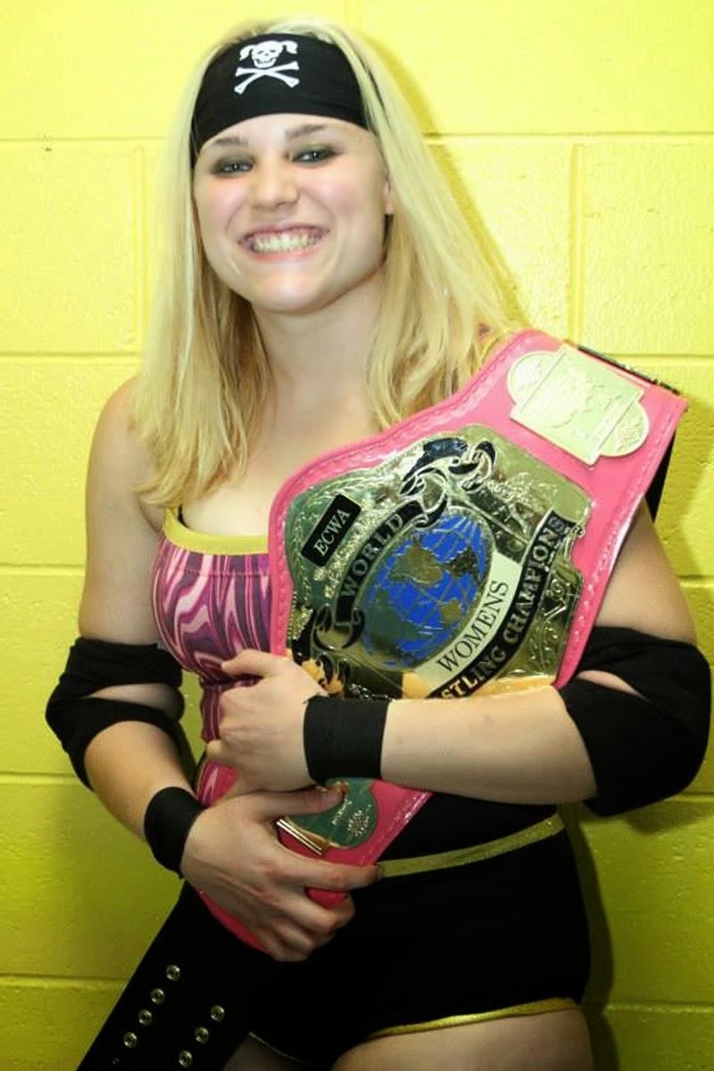 Maryland Championship Wrestling Jessie Kaye female wrestler