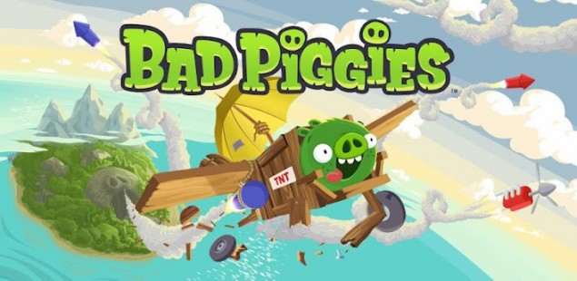 Angry Bird's New Game - Bad Piggies is Now Available In The Play Store