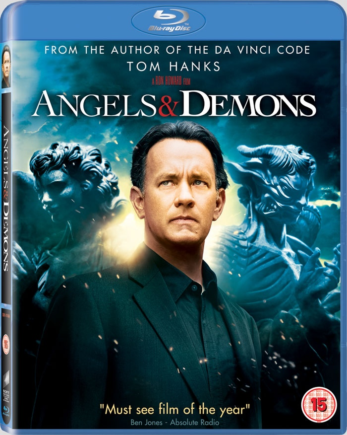 Angels Demons Extended Bluray