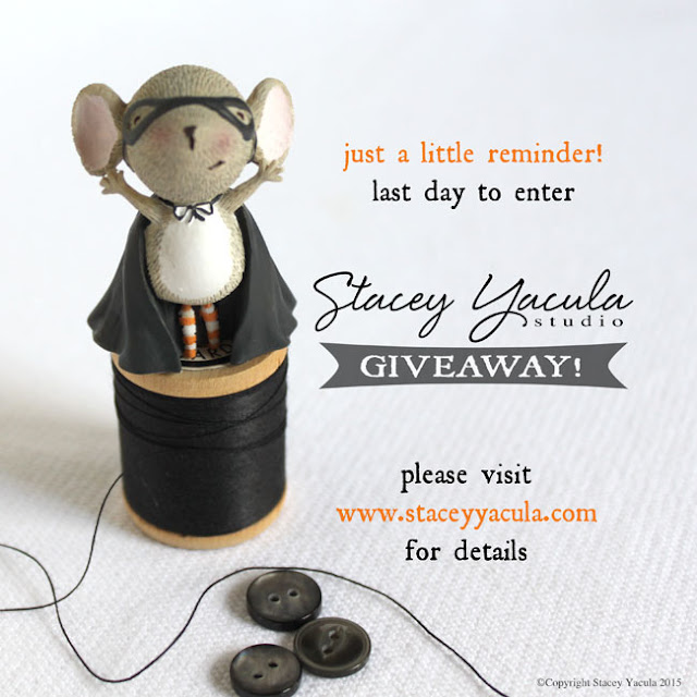 Stacey Yacula Enesco Halloween Giveaway