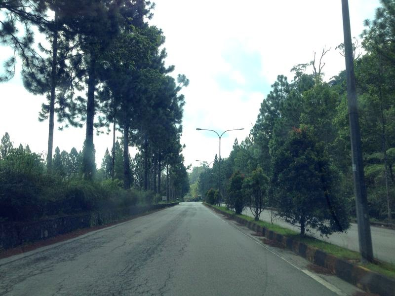 Going down Genting Highland