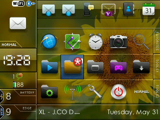 Tema Blackberry
