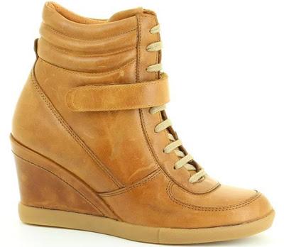 sneakers con cuña Fosco