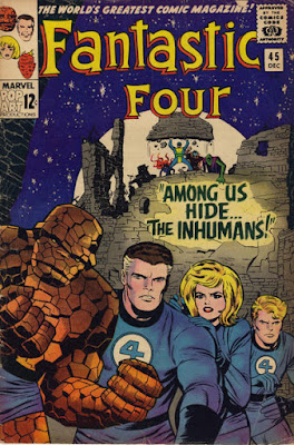 Fantastic Four #45, Inhumans