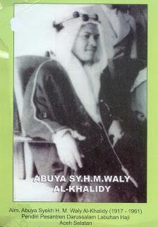 Biografi Abuya Muda Waly al Khalidy