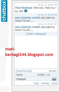Cara Membuat Chat Box Auto Hide Pada Blog