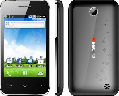 Cross Andromeda A25 - Ponsel Android Gingerbread Layar Sentuh 3,5 Inch Terbaru - Berita Handphone