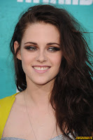 Kristen Stewart at the MTV Movie Awards at Gibson Amphitheatre on June 3