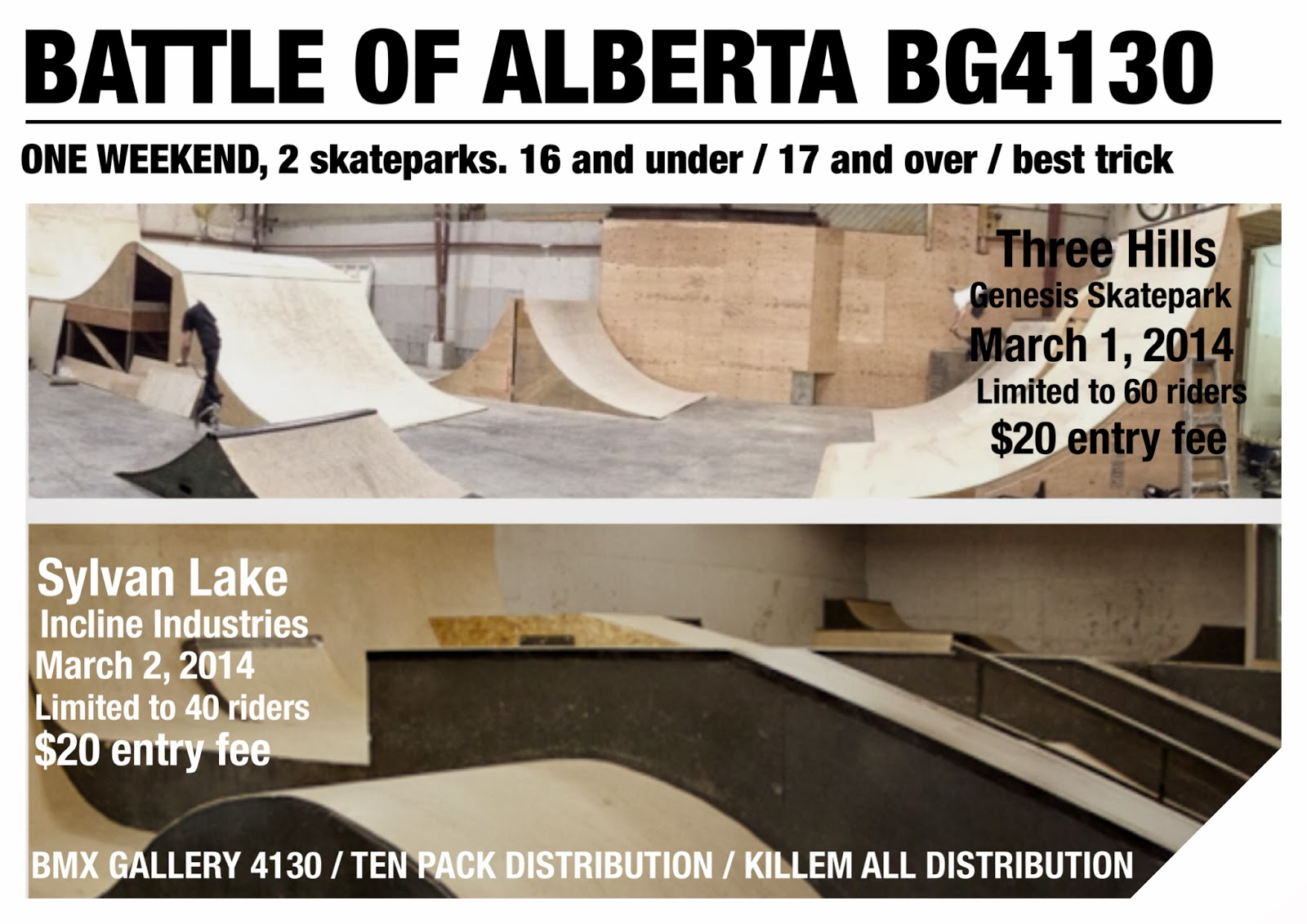 Battle of Alberta poster