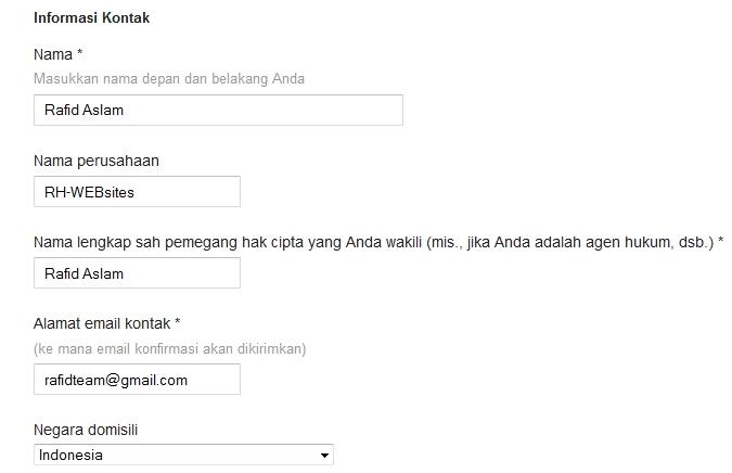 Cara mengadukan blog yang copy paste ke DMCA
