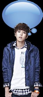 Bubble Widget Animasi Lee Hyun Woo