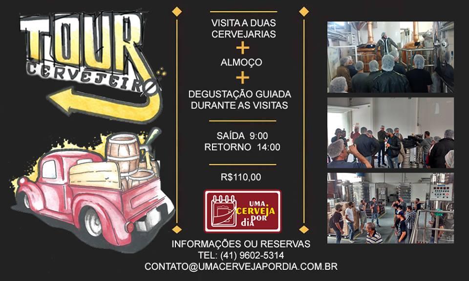 Tour Cervejeiro em Curitiba