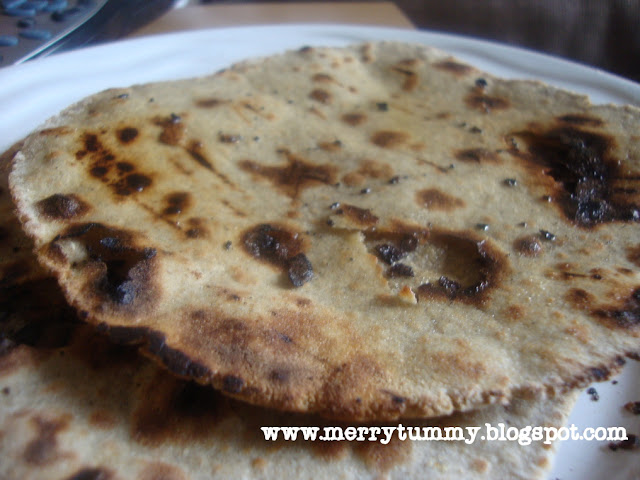 how to make jowar roti