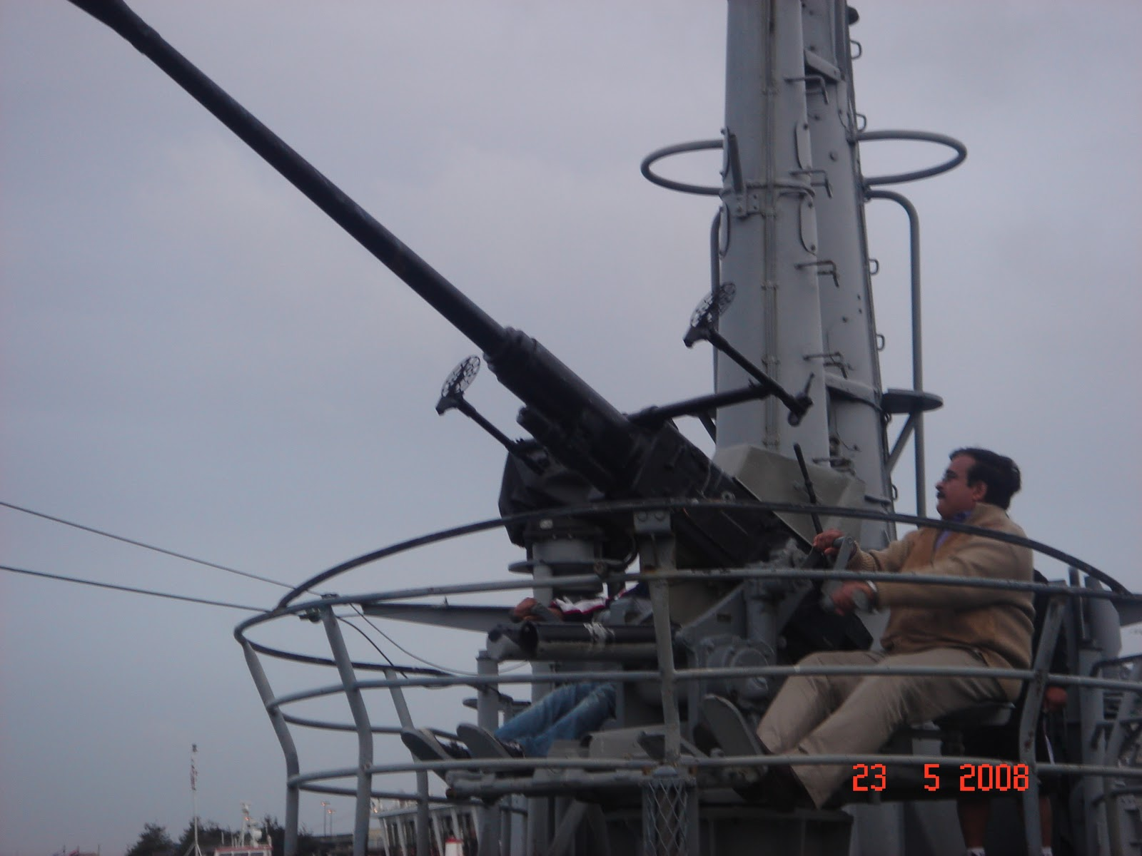 Submarine Anti Aircraft Gun, San Francisco