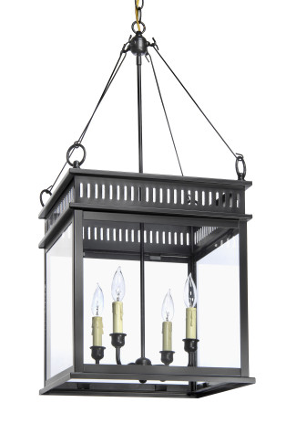LANTERN AND SCROOL JS-2 HANGING LANTERN